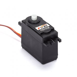 FS5103R 3kg.cm Continuous Rotation Plastic geared Servo