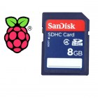 8GB SD Card for Raspberry Pi (with NOOBS image)
