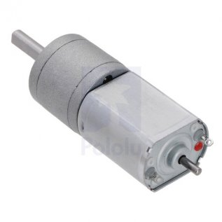 250:1 Metal Gearmotor 20Dx46L mm 6V CB with Extended Motor Shaft