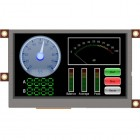 4.3-inch LCD TFT display module with touch screen