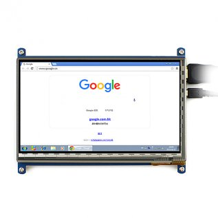 7 Inch Touch HDMI LCD (C) for Raspberry Pi with Bicolor Case