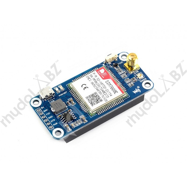 NB-IoT / eMTC / EDGE / GPRS / GNSS HAT for Raspberry Pi - Click Image to Close