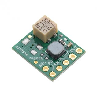 2.5 - 9V Fine-Adjust Step-Up/Down Voltage Regulator S9V11MA