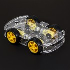 4-Wheel Robot Chassis Kit