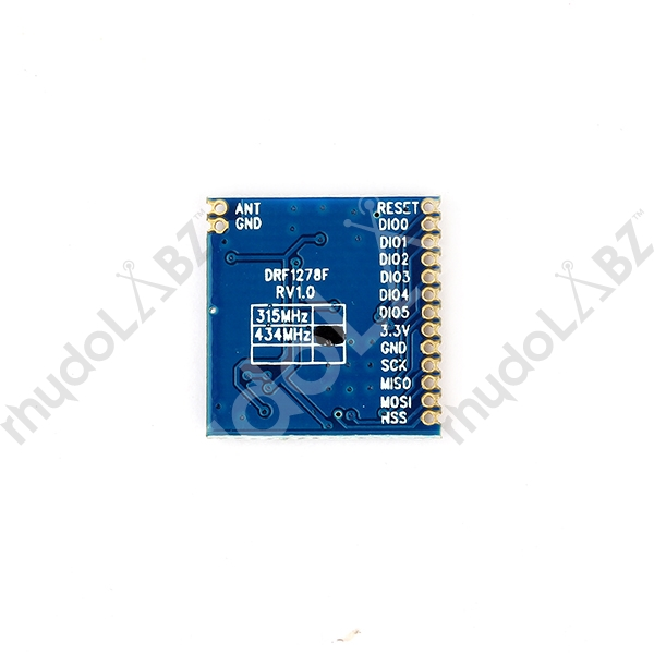 Long Range RF Front-End Module-DRF1278F : rhydoLABZ INDIA