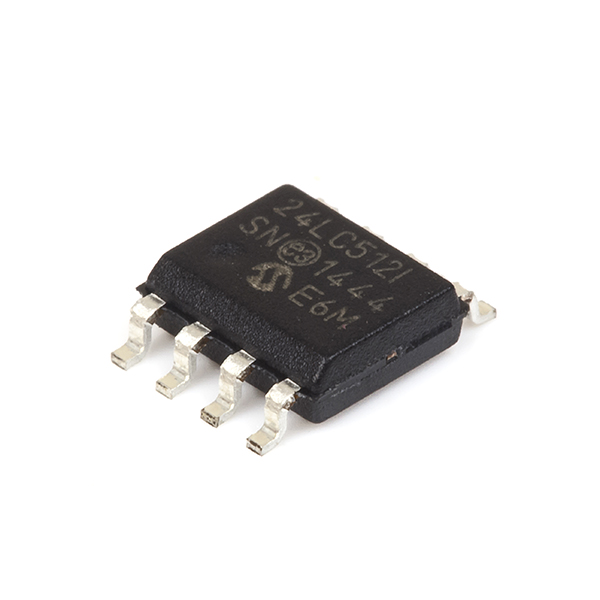24LC512-512K I2CT Serial EEPROM : rhydoLABZ INDIA