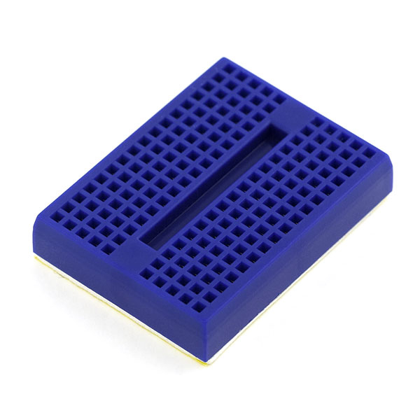 Mini Breadboard ( Self-Adhesive Blue)