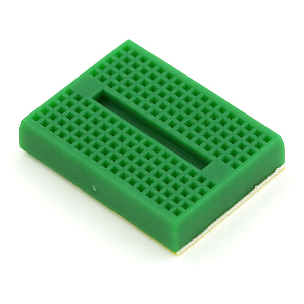 Mini Breadboard ( Self-Adhesive Green)