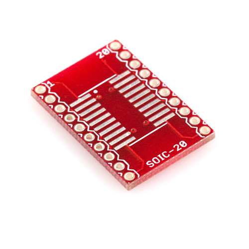 SOIC to DIP Adapter 20-Pin - Sparkfun