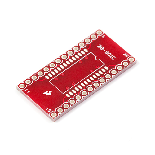 SOIC to DIP Adapter 28-Pin - Sparkfun