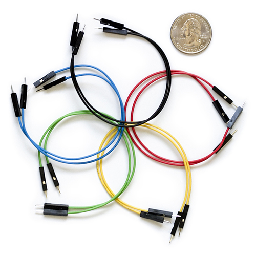 "Jumper Wires Premium 6"" M/M Pack of 10"