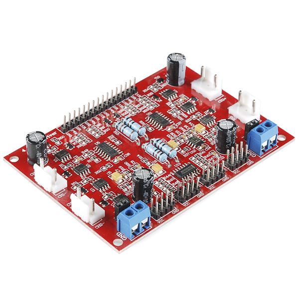 Dagu 4 Channel DC Motor Controller with Encoder Support : rhydoLABZ