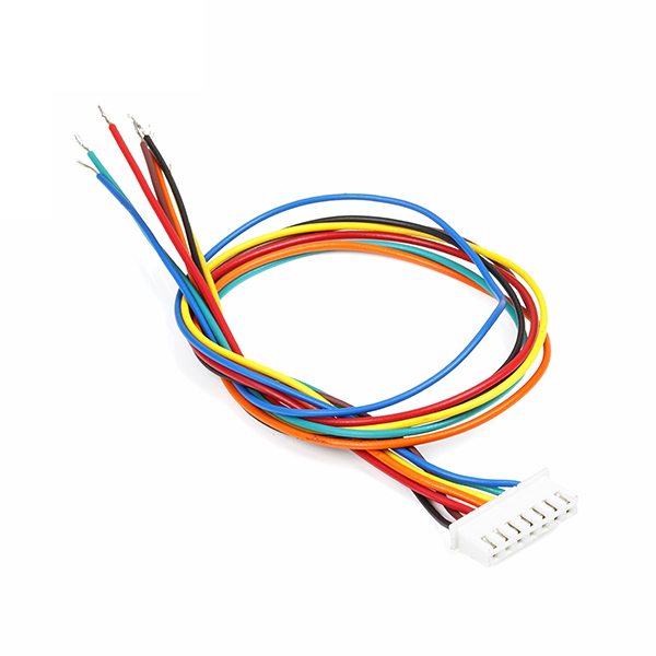 7 Pin RMC Female Connector with Wire (2.54mm) : rhydoLABZ INDIA
