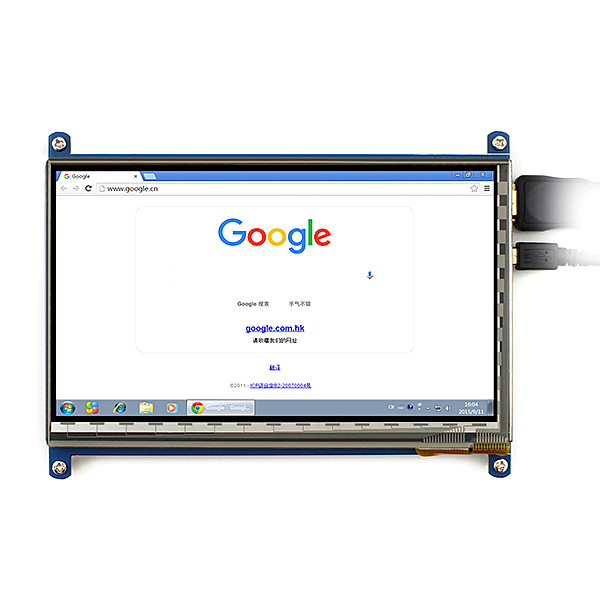 touch screen drivers for raspberry pi