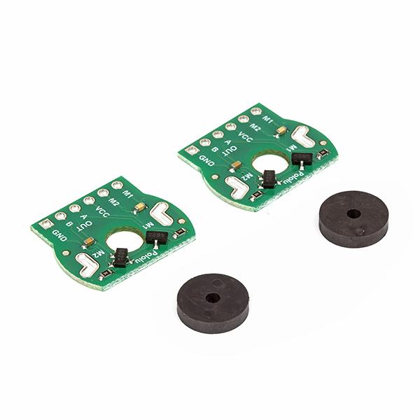 Magnetic Encoder Pair Kit For 20D mm Metal Gearmotors : rhydoLABZ INDIA