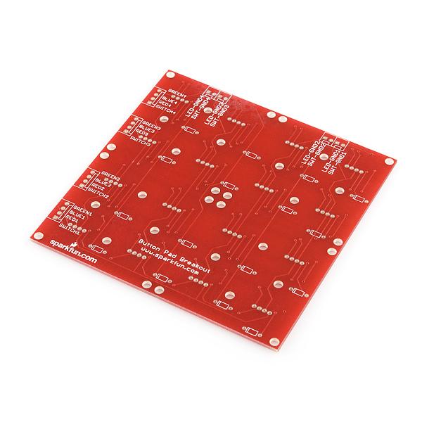 Button Pad 4x4 - Breakout PCB : rhydoLABZ INDIA