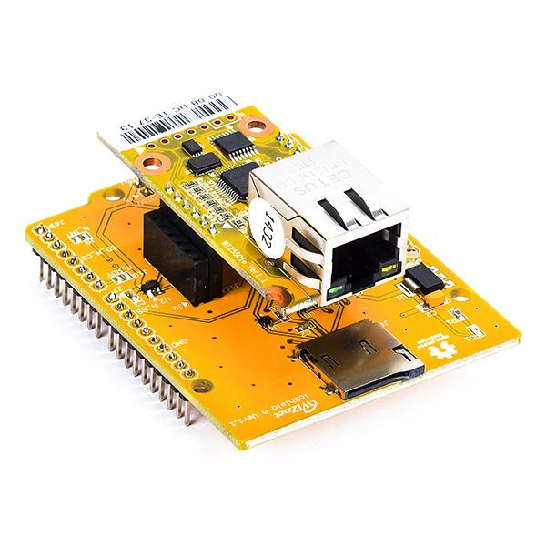 network module wiznet w5500 with ioshield-a