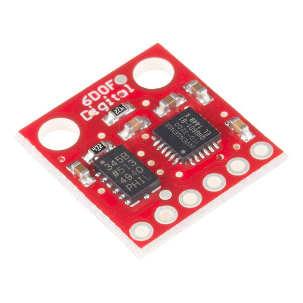 IMU Digital Combo Board - 6 Degrees of Freedom ITG3200