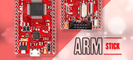 LPC2148 ARM7 Stick