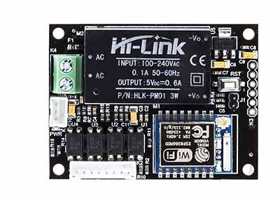 IoT Wifi Board With SMPS (4 Digital + 1 Analog) : rhydoLABZ