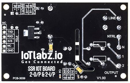 IoT Board With SMPS & SSR(2 O/P And 2 I/P) : rhydoLABZ INDIA