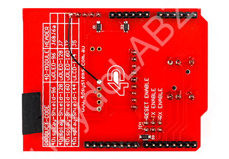 1 44 LCD Display Shield for Arduino