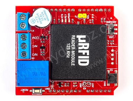 Rfid Access Control Shield With Rfid Rhydolabz India