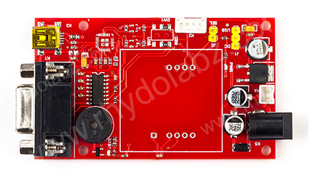 Base Board for EM-18/μRFID (RS232,TTL) : rhydoLABZ INDIA