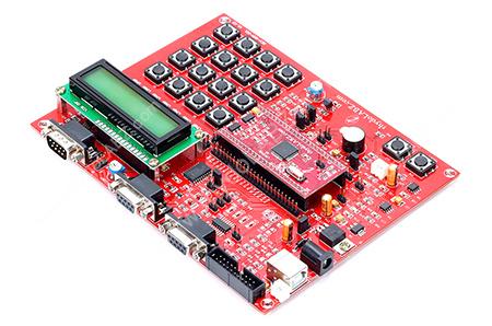 ARM LPC2129 CAN Teach YourSelf Kit