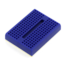 Mini Breadboard (Self-Adhesive Blue)
