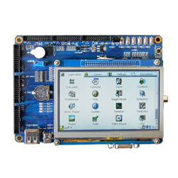 "ARM11 Board with 4.3"" LCD ( S3C 6410 )"