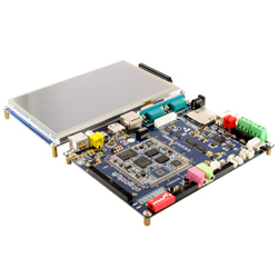"ARM11 - S3C6410 board with 7"" TFT LCD (LS-6410)"