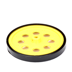 Wheel 68.5mmX6.75mm-Yellow