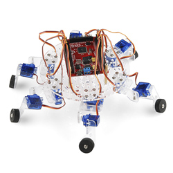 Simple Hexapod Chassis
