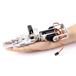 Dagu - 2DOF Robot Arm with Gripper and Servos (21cm)