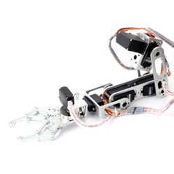 Dagu - 6DOF Robot Arm with Gripper and Servos (50cm)