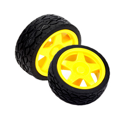 RW002 Off Road Wheels 65mm X 30mm(Pair)