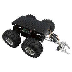 Dagu Wild Thumper 4WD All-Terrain Chassis, Black, 75:1 with ARM