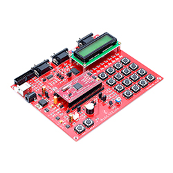 ARM LPC2129 CAN Development Board