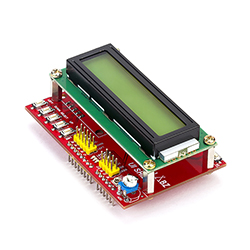 User Interface Shield with LCD (16X2)