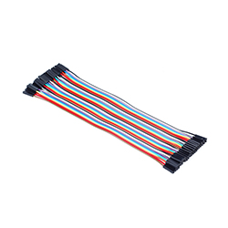 Premium Female/Female Jumper Wires - 40 x 8""
