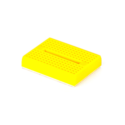 Breadboard Mini Self-Adhesive (Yellow)