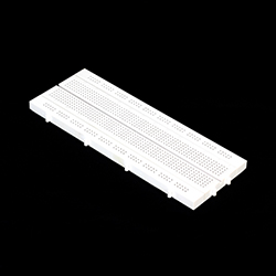 840 Tie-Points Solderless Breadboard(Milky White)