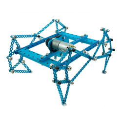 Makeblock Ultimate Robot Kit-Blue (No Electronics)