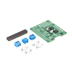 Dual Mc33926 Motor Driver For Raspberry Pi (Partial Kit)