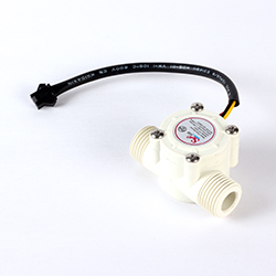 Water Flow Sensor - White (Hall Sensor based)
