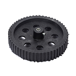 BlackTyre with Grip -6mm Shaft (100mm X 20 mm)