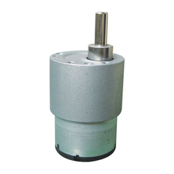 45RPM DC Motor with Gearbox (Sideshaft)
