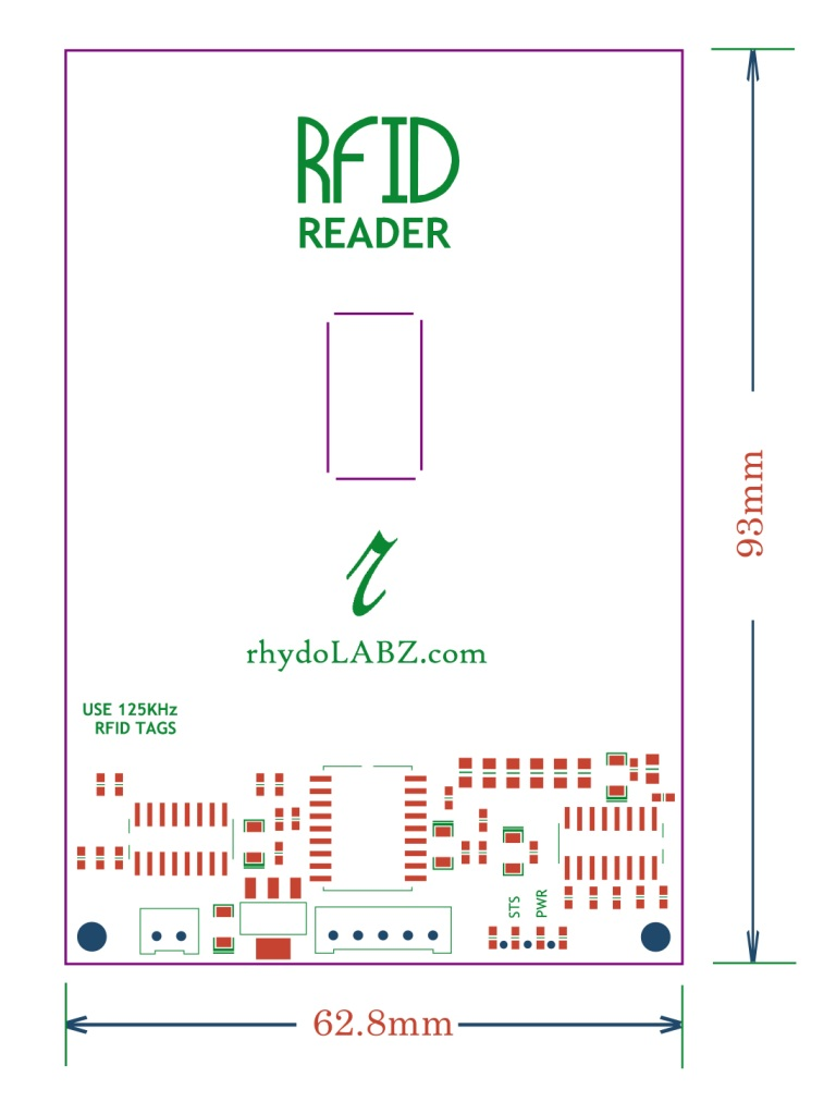 Read RFID Tag using RFID Reader(125Khz) – RS232