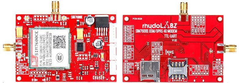 4G GSM/GPRS/GPS TTL MODEM-SIM7600E